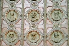 Twelve Apostles Door of the St Stephen's Basilica