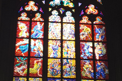 a St. Vitus Cathedral's Stained Glass