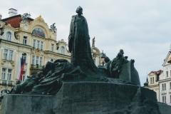 Memorial of Jan Hus in Prague