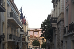 one of the many charming streets in Athens