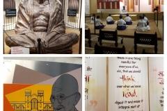 Gandhi museum in Rajkot