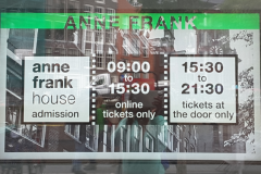 Anne Frank museum hours