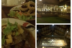 birthday dinner at the River Market